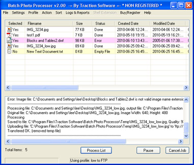 batch image/pdf processing files