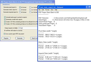 PDF Paper Stats Batch 2.00