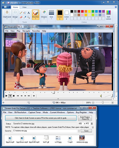 Screen Grab Pro Deluxe Freeware
